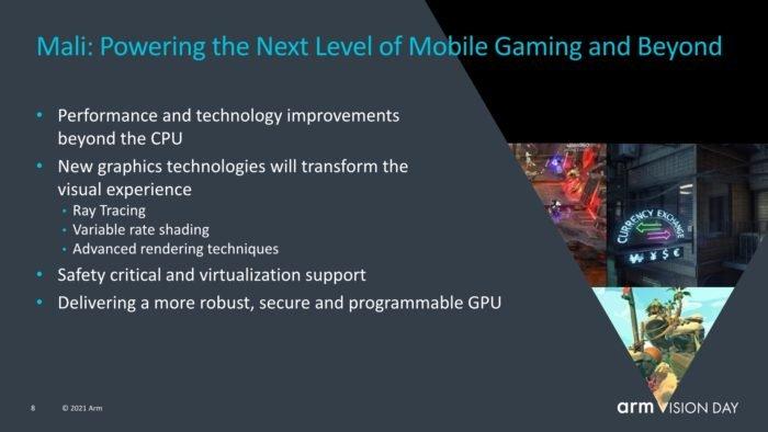 Plano para a futura geração de GPUs Mali (imagem: reprodução/ARM)
