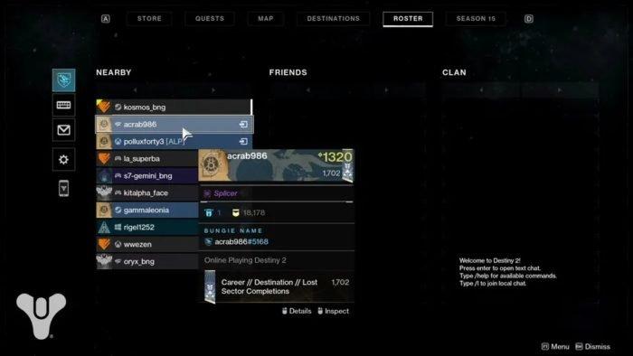 Jogadores de Destiny 2 serão identificados pelo Nome Bungie a partir da Temporada 15 (Imagem: Divulgação/Bungie)
