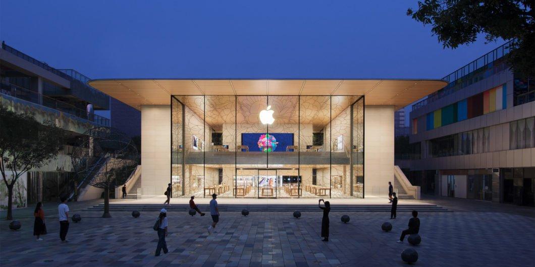 Apple Store em Pequim, China (Imagem: Divulgação/Apple)