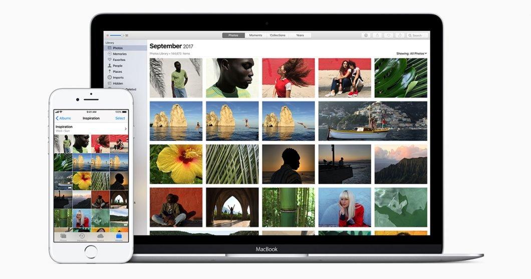 iCloud Photos (Imagem: Divulgação/Apple)