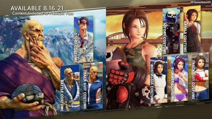 Oro e Akira chegam em agosto (Imagem: Divulgação/Capcom)