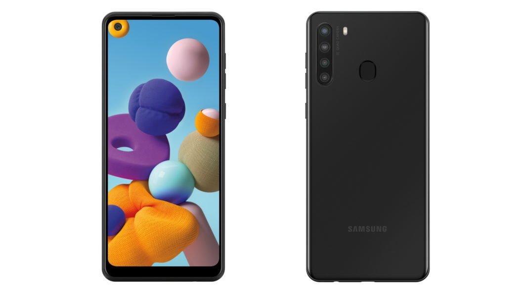 Samsung Galaxy A21 (Imagem: Divulgação/Samsung)